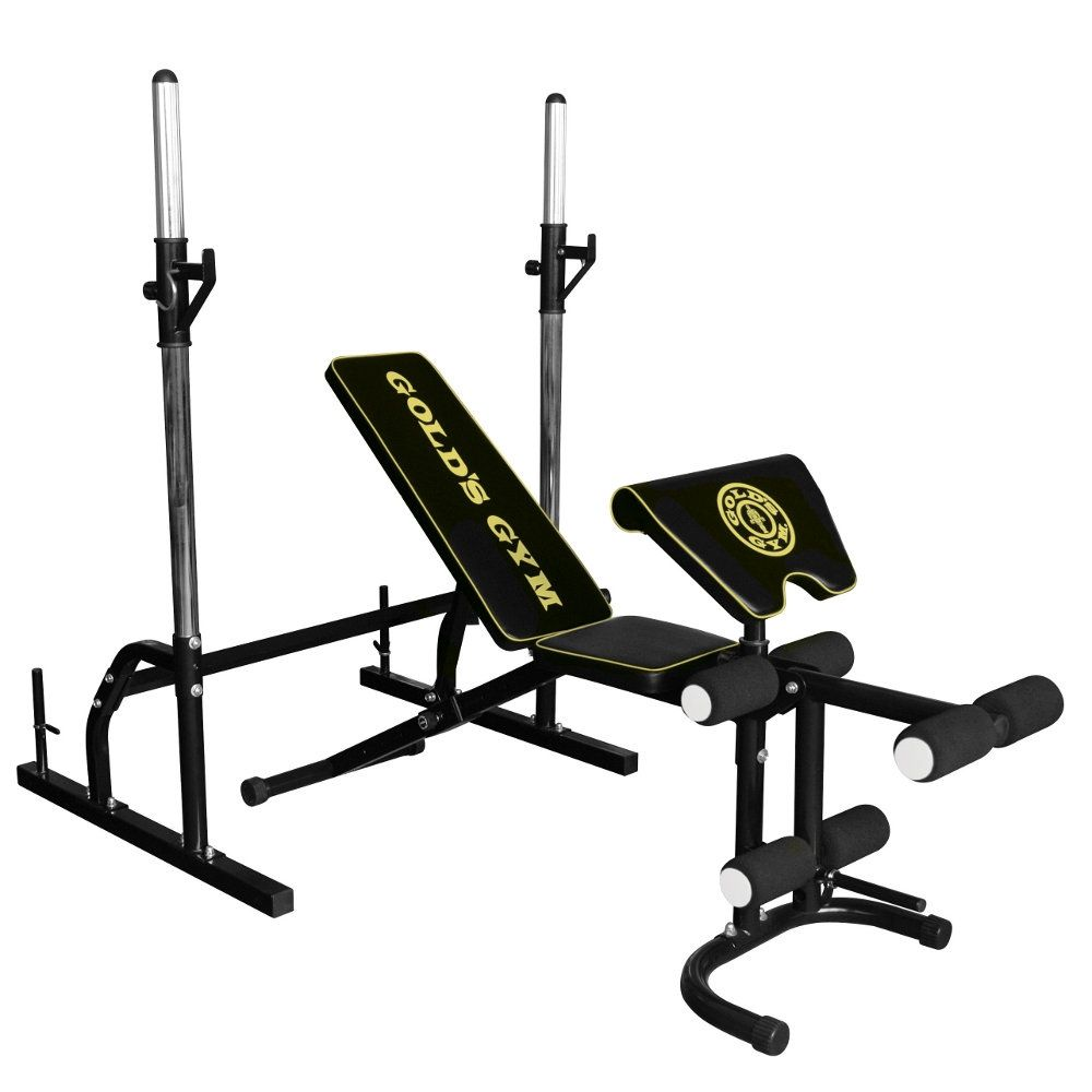 Golds Gym Deluxe Bench Sweatband Com