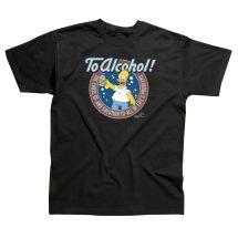 Simpsons Alcohol T-shirt