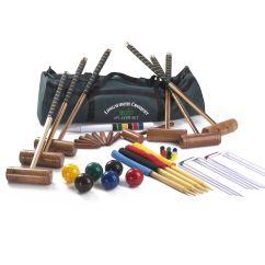 Diagram Of 6 Wicket Croquet Stearns Brake Coil Wiring Garden Games Longworth Player Set