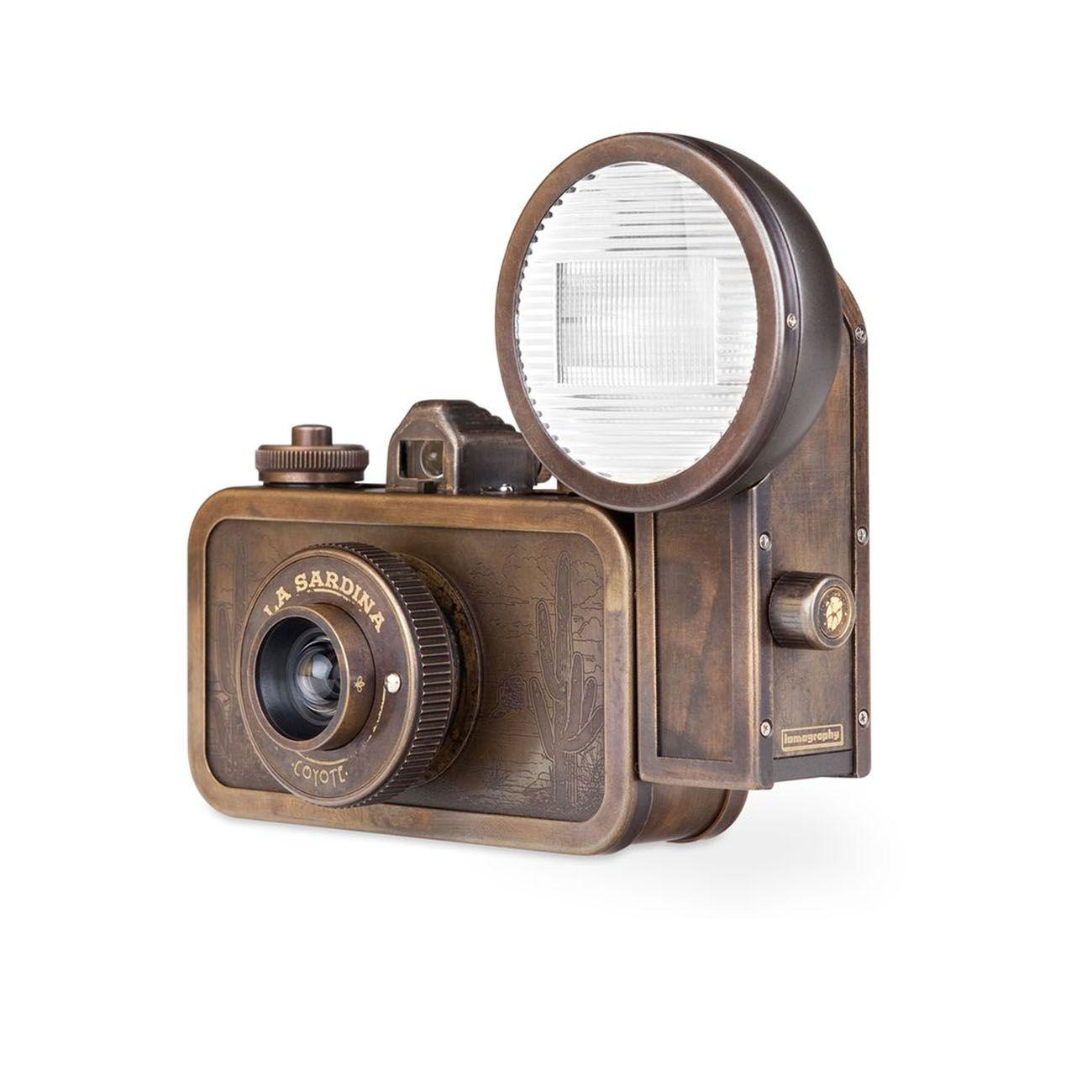 Lomography La Sardina Metal Edition Coyote Camera