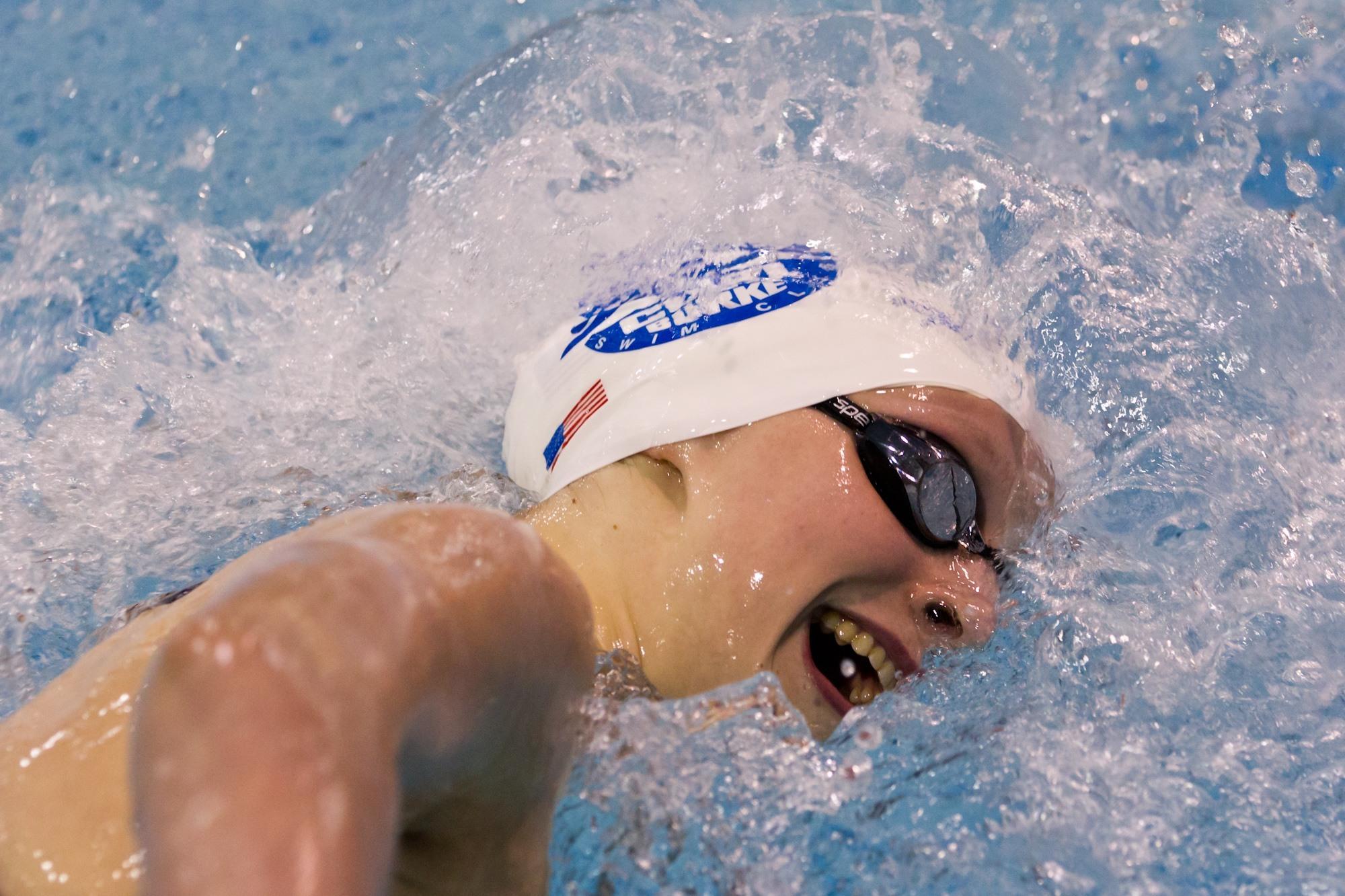 Katie Ledecky Snaps Janet Evans NAG Record