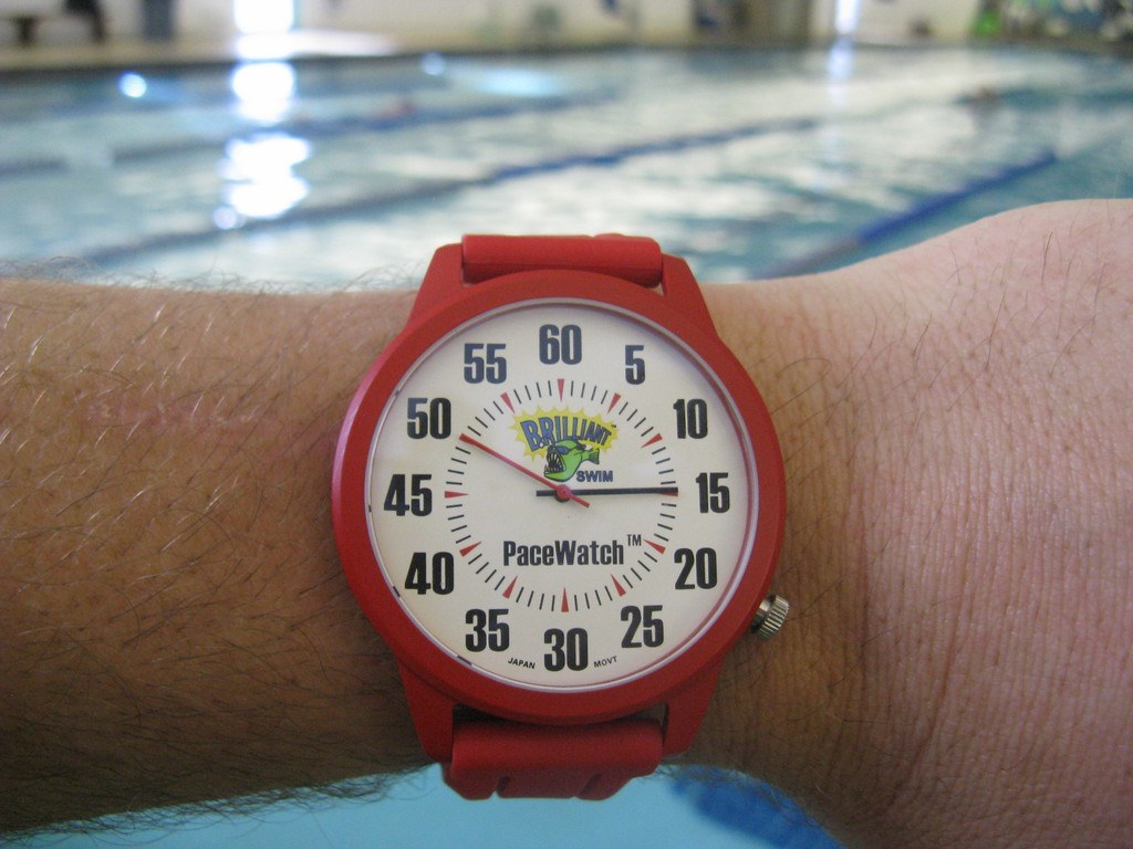 Swimming Startup Introduces Pacewatch A Pace Clock For