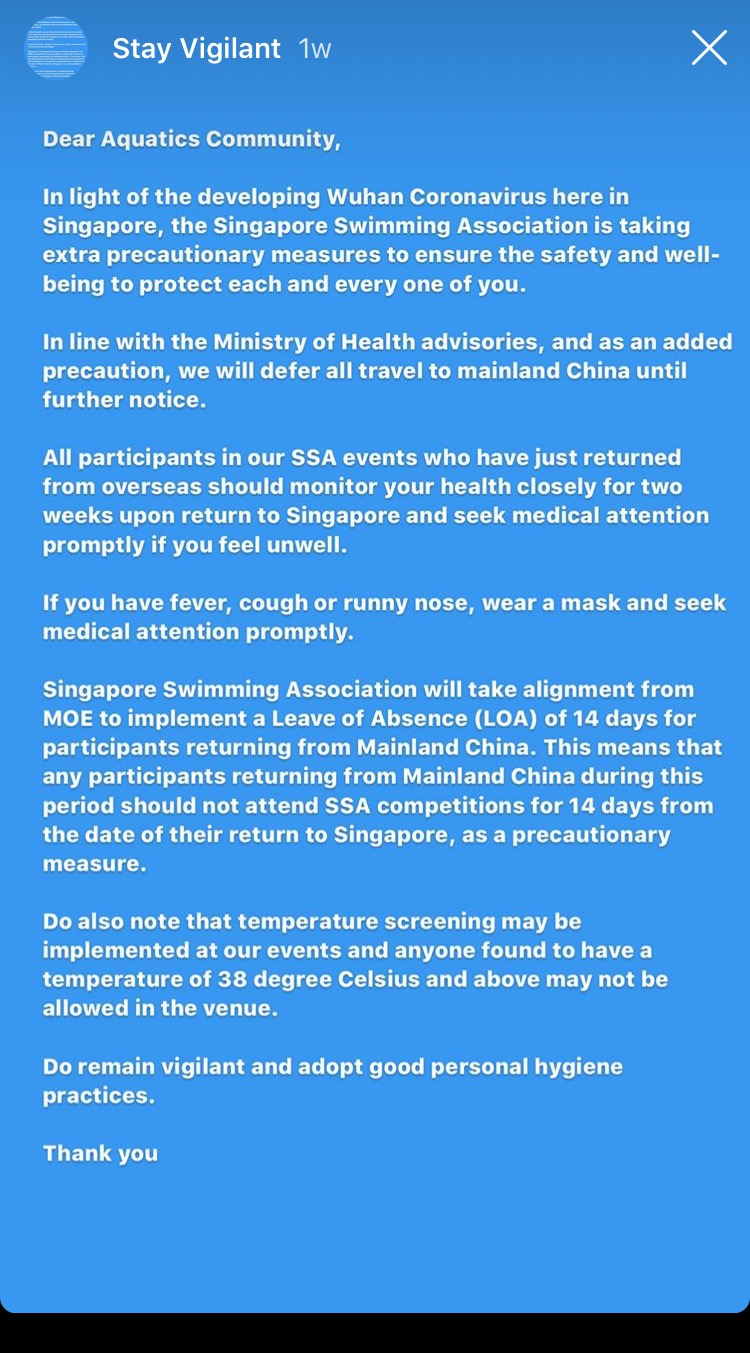 Singapore Adds To Coronavirus Cancellations; Implements ...
