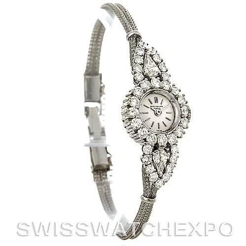 Patek Philippe Vintage Ladies Platinum Diamond 3289/34