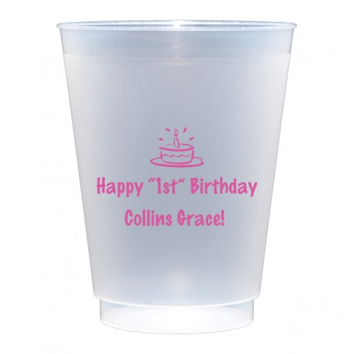 personalized 16 oz shatterproof