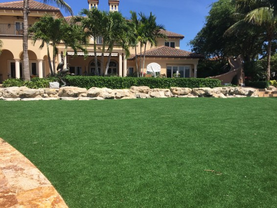 Residential Artificial Grass Lawn