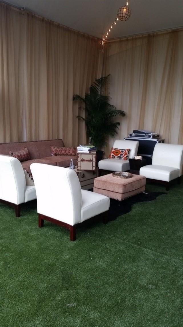 Synthetic Turf Installation for wedding   SoftLawn® Elite