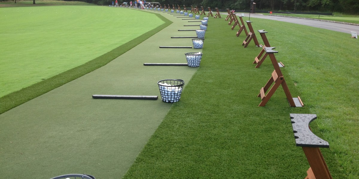 Synthetic Turf International EZTee Tee Line Hitting Mat Artificial Grass STI