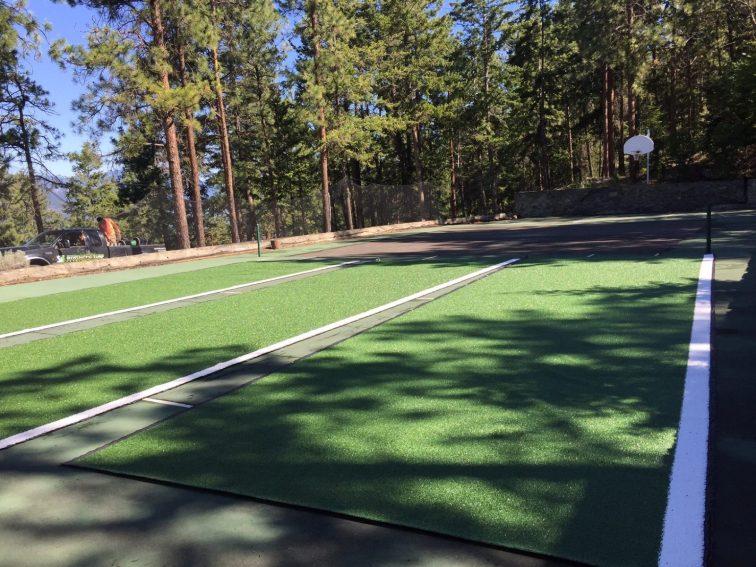 Synthetic Grass Tennis Court Kelowna