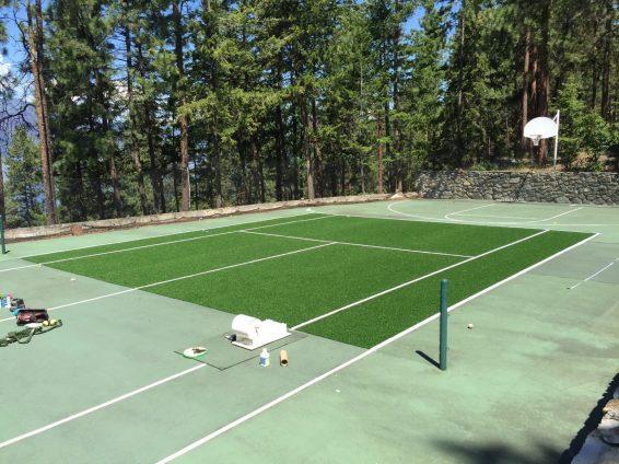 tennis court | sports turf | STI