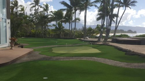 Residential Putting Green North Shore