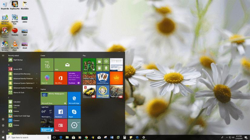 Thème Beautiful Blossoms pour le bureau Windows 10