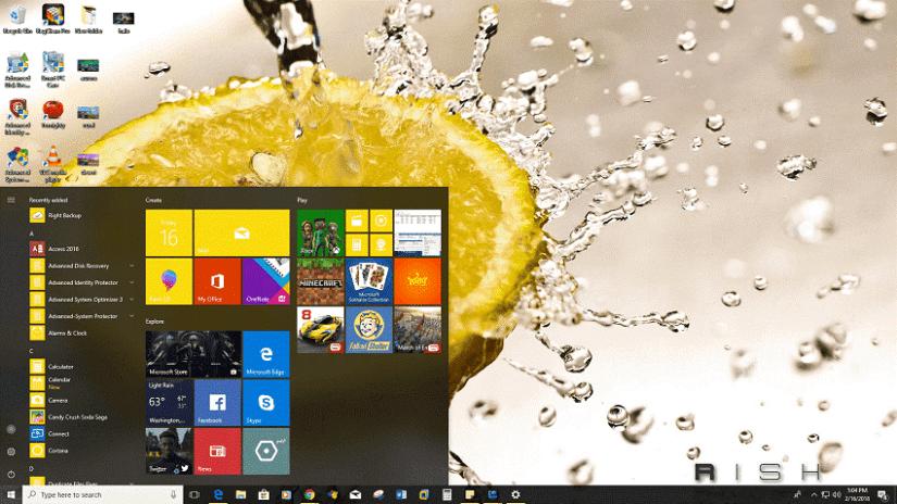Captured Moments télécharger le thème du bureau pour Windows 10