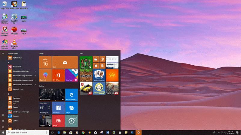 Desert Panoramic - Télécharger le thème Windows 10