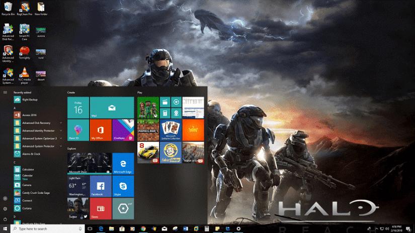 Halo-Reach télécharger gratuitement des thèmes Windows 10