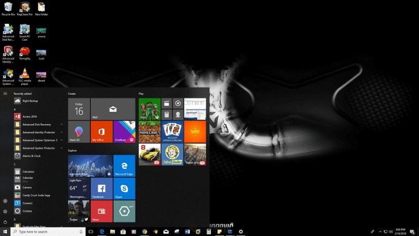 Le thème Akrapovic - fenêtres de thème de bureau 10