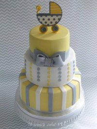 31 Baby Shower Decorating Ideas With Grey And Yellow Theme