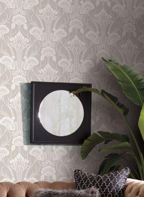 Agli inizi del '900, l'industria con le sue produzioni di carte da parati, consente l'accesso allo stile art nouveau a gran parte della. Carta Da Parati Art Nouveau Arte Decorativa Di Fine Secolo