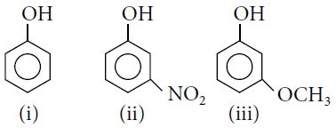 Which of the following is the correct order of acidic streng
