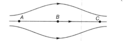 The figure shows some of the electric field lines correspond
