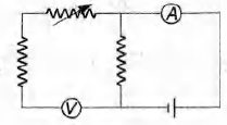 Which of the following set-up can be used to verify Ohm's