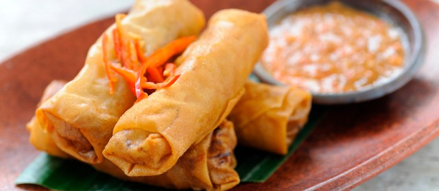 It's official: lumpiang shanghai has been rated the best Filipino food