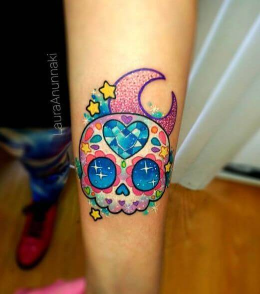 180 Skull Tattoos For Girls 2020 Meaningful Designs With Cross Bones And Sleeve Ideas