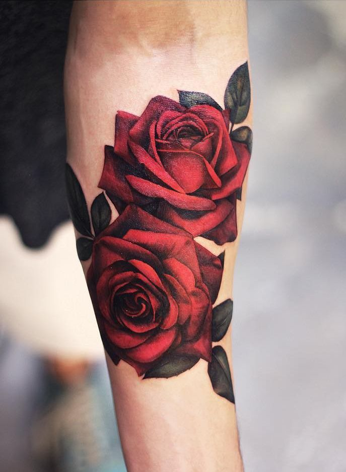 Roses Tattoos Arm : roses, tattoos, Meaningful, Tattoos, Designs, Women, (2020), Hearts,, Thorns,, Vines,, Names