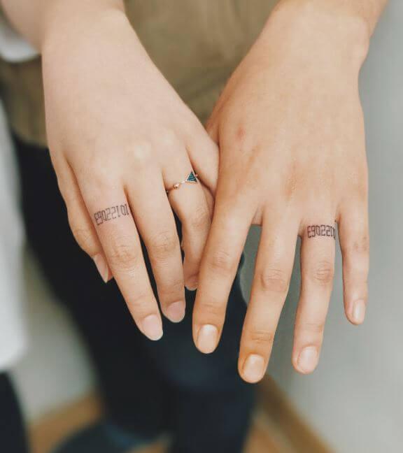 Маленькие Татуировки Пар