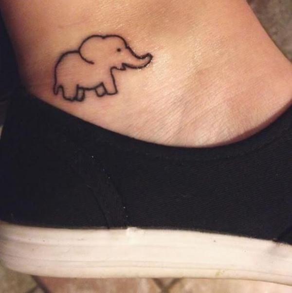 Маленькие Татуировки Слонов
