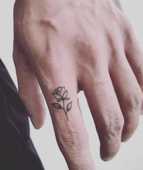 Маленькие Татуировки С Цветами