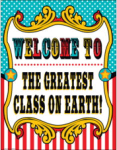 Carnival welcome chart also charts decorative teacher created resources rh teachercreated