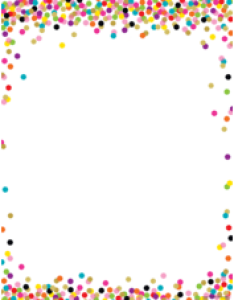 Confetti blank chart also charts decorative teacher created resources rh teachercreated