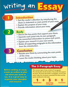 Tcr writing an essay chart image also teacher created resources rh teachercreated