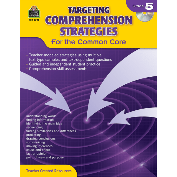 Targeting Comprehension Strategies Common Core