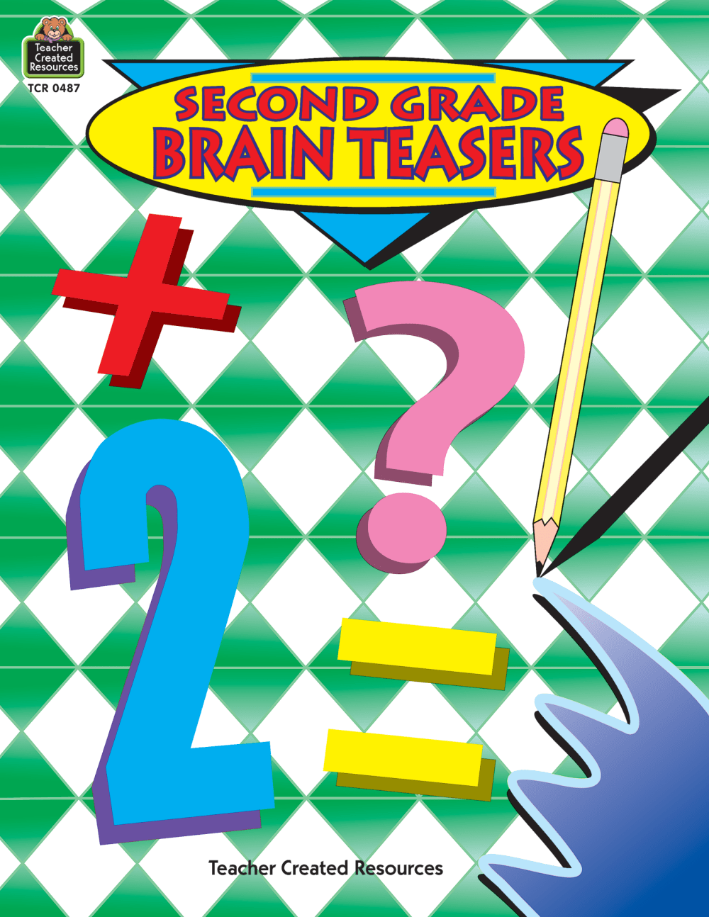 medium resolution of Second Grade Brain Teasers - TCR0487   Teacher Created Resources
