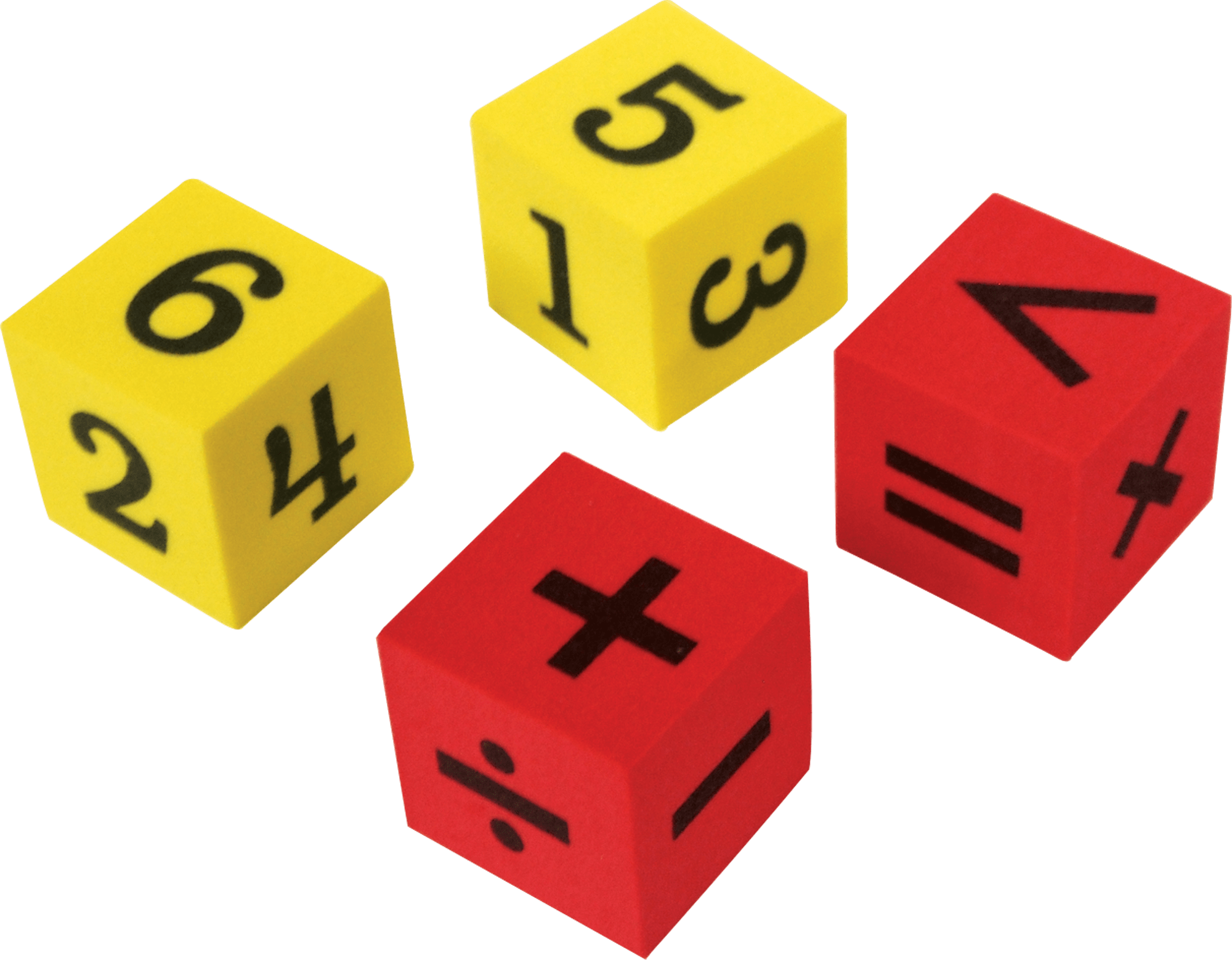 Foam Numbers Amp Operations Dice