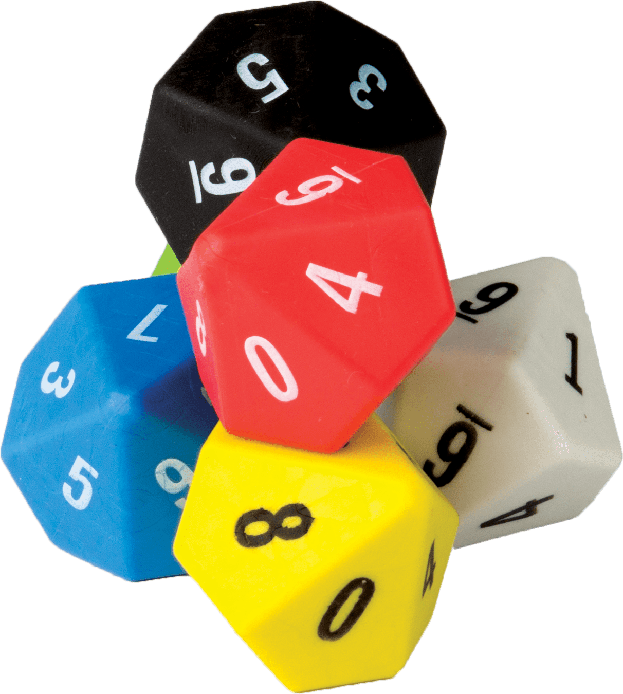 10 Sided Dice 6 Pack