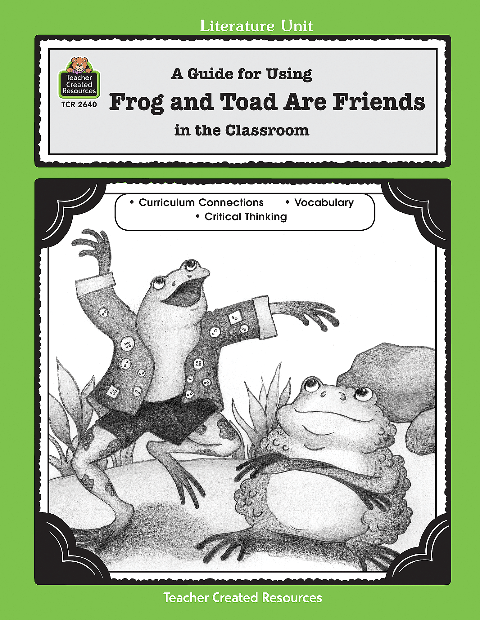 A Guide For Using Frog And Toad Are Friends In The