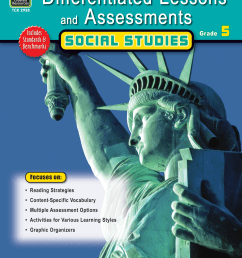 Differentiated Lessons \u0026 Assessments: Social Studies Grade 5 - TCR2928    Teacher Created Resources [ 2000 x 1545 Pixel ]