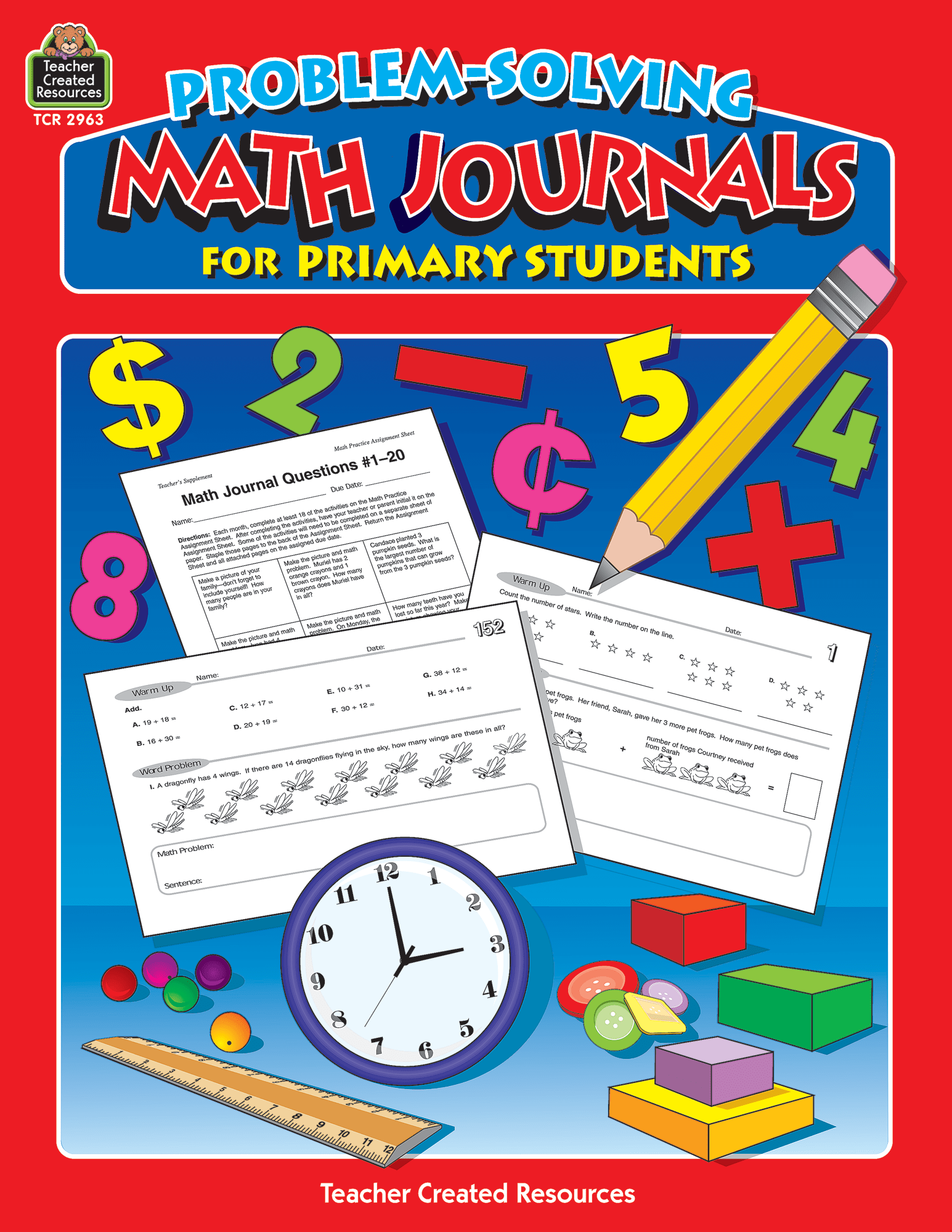 Problem Solving Math Journals For Primary Students