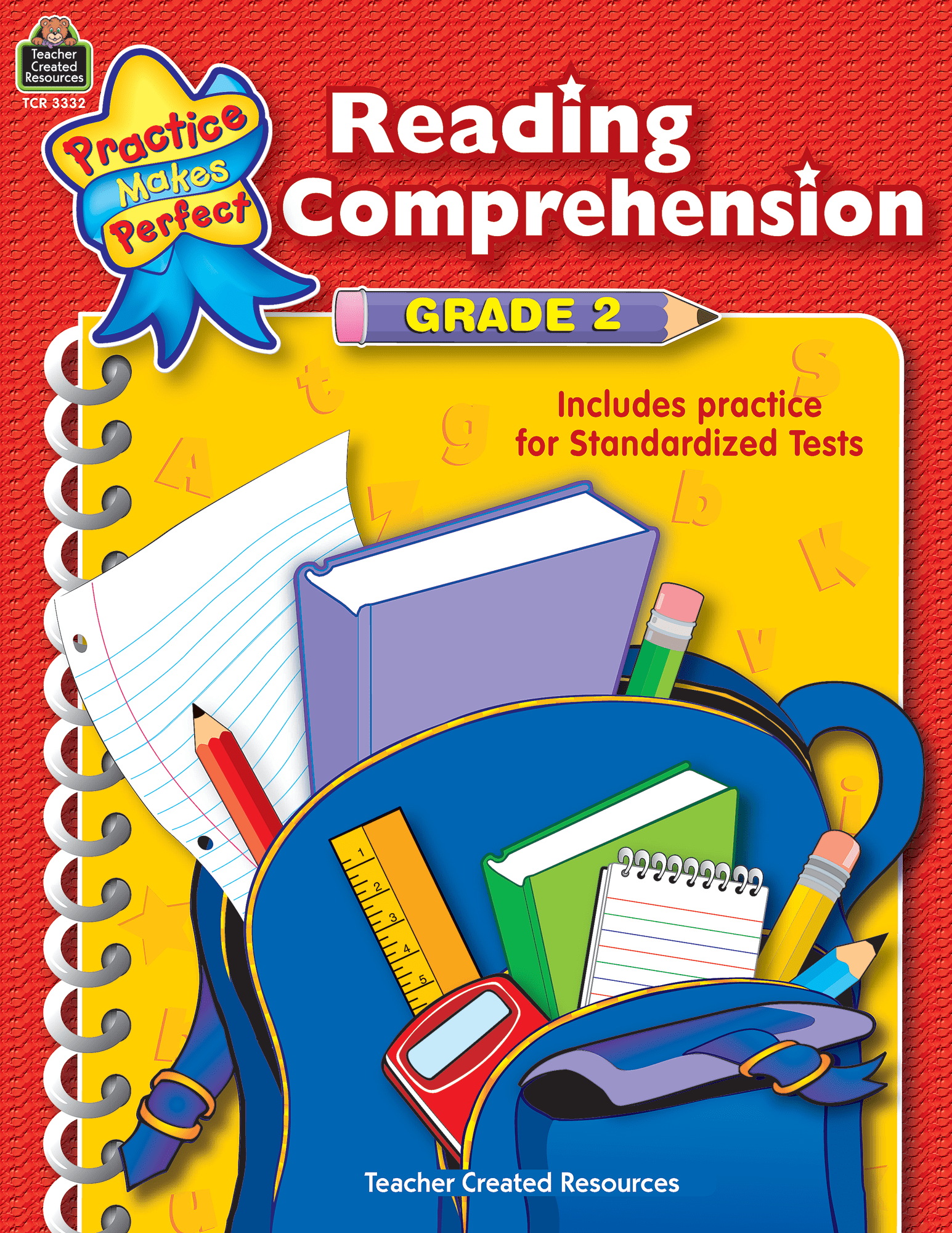 hight resolution of Reading Comprehension Grade 2 - TCR3332   Teacher Created Resources