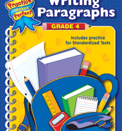 Writing Paragraphs Grade 4 - TCR3343   Teacher Created Resources [ 2000 x 1545 Pixel ]