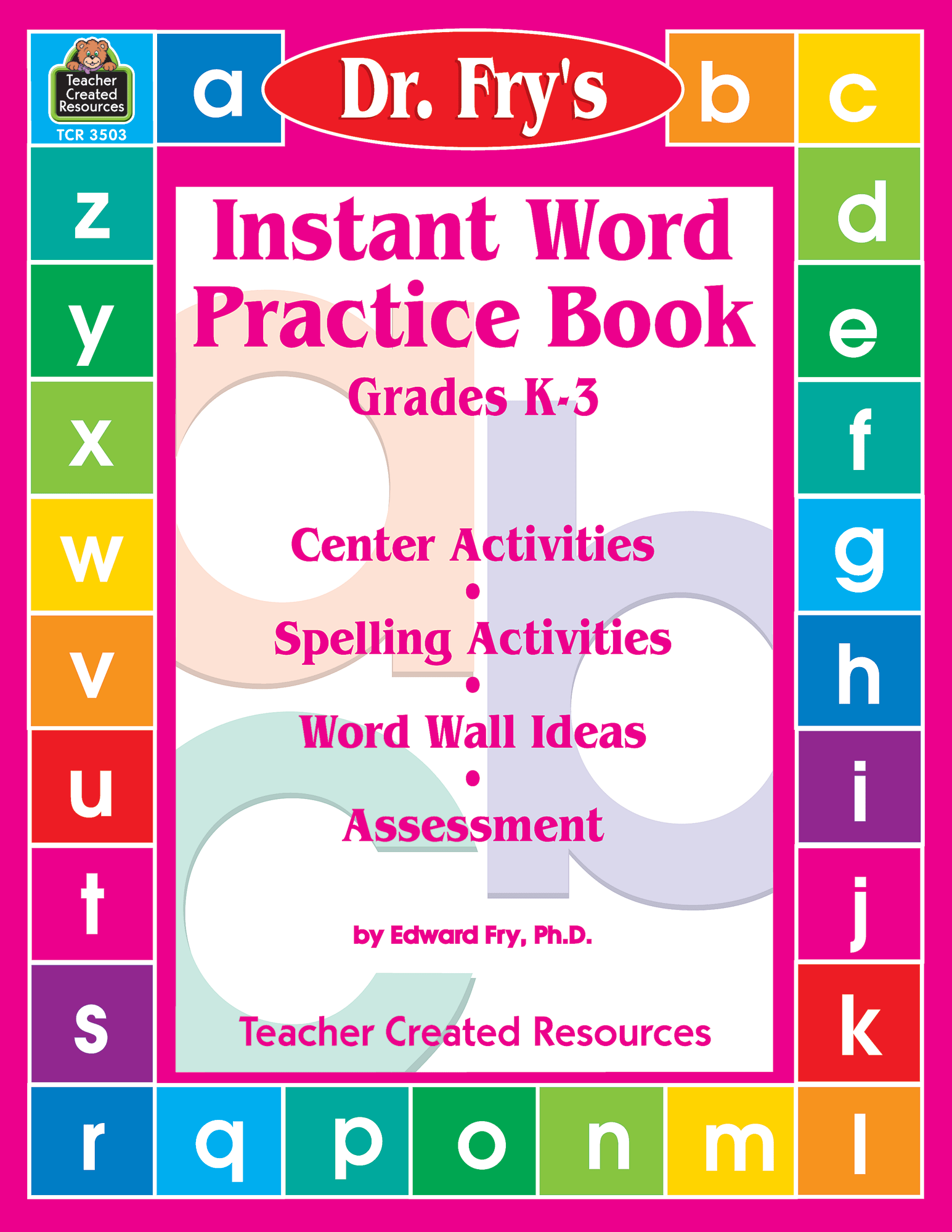 Instant Word Practice Book By Dr Fry