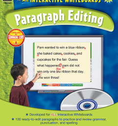 Interactive Learning: Paragraph Editing Grade 3 - TCR3631   Teacher Created  Resources [ 2000 x 1543 Pixel ]