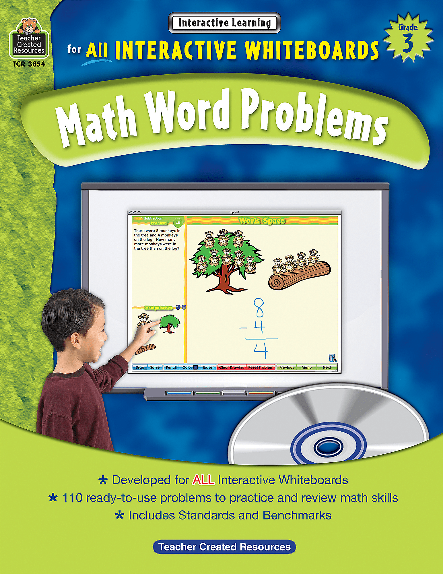 K5 Learning Grade 3 Math Word Problems Worksheet