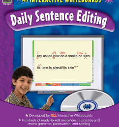 Interactive Learning: Daily Sentence Editing Grade 6 - TCR3891   Teacher  Created Resources [ 2000 x 1543 Pixel ]