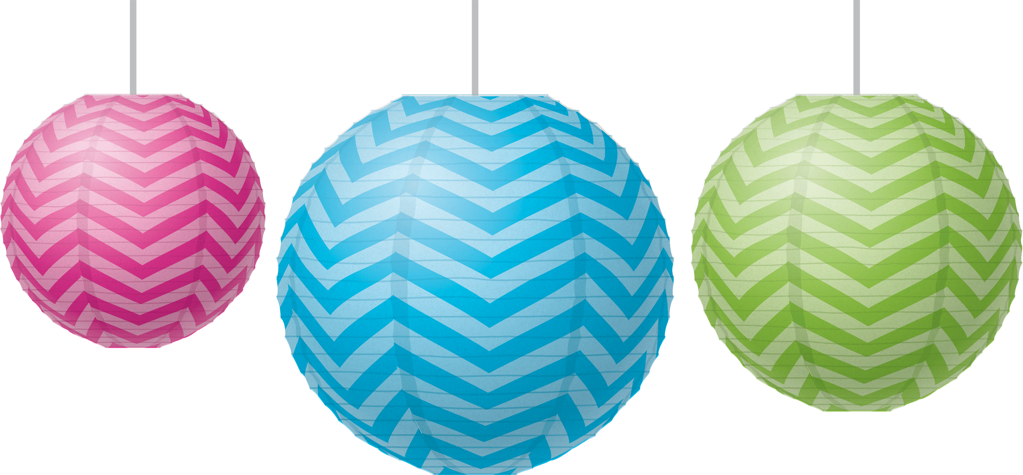Chevron Paper Lanterns Tcr77226 Teacher Created Resources