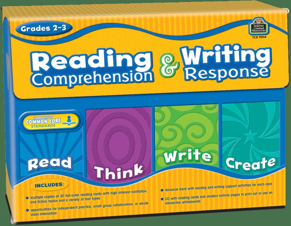medium resolution of Reading Comprehension \u0026 Writing Response Grade 2-3 - TCR9014   Teacher  Created Resources