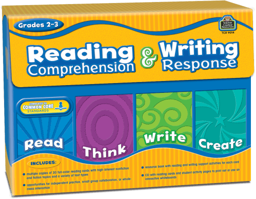 small resolution of Reading Comprehension \u0026 Writing Response Grade 2-3 - TCR9014   Teacher  Created Resources
